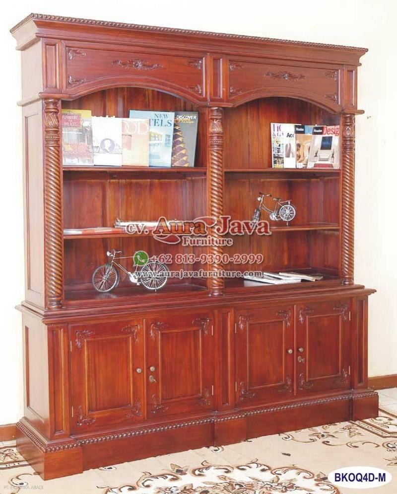 Qobla Open Bookcase 4 Doors