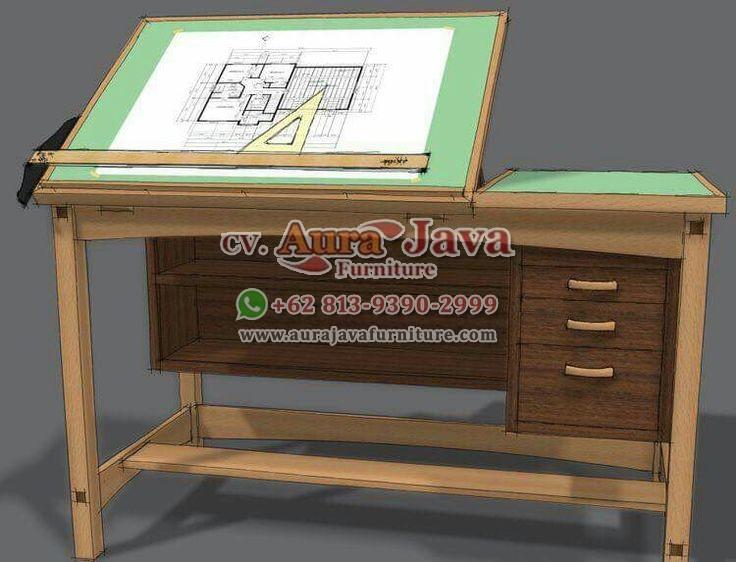 indonesia-teak-furniture-store-catalogue-partner-desk-furniture-aura-java-jepara_001