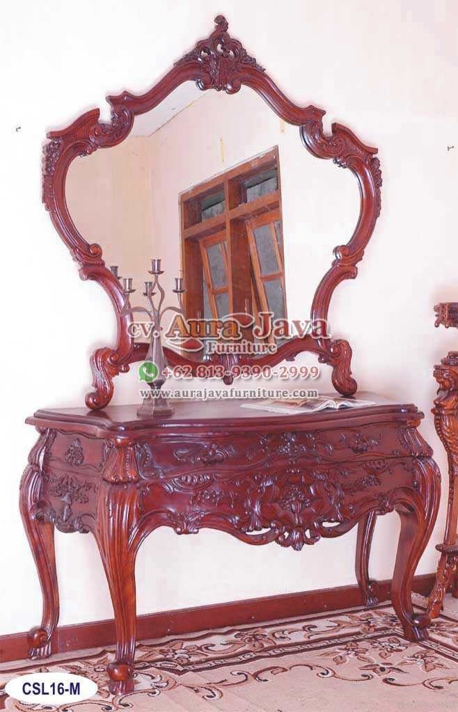 Console Louis XVI with Mirror